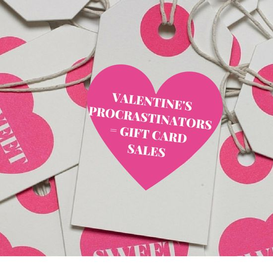 complementary 10 salon delonjay gift card for valentines